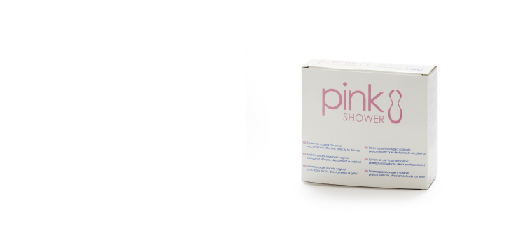 Pink Shower  – The vaginal douche for feminine hygiene